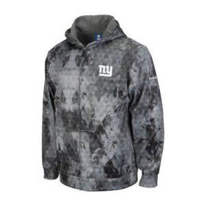 REEBOK NFL Men's Giants United Hooded Coat #112